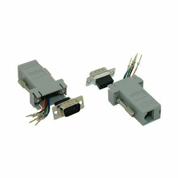 Picture of Adapter DB09M-RJ45