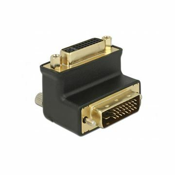 Picture of Adapter DVI 24+1 - DVI 24+5 kotni 90° Delock
