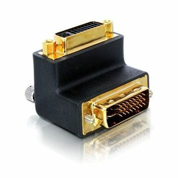 Picture of Adapter DVI-DVI 29M/29Ž kotni 90° 24+5 Delock