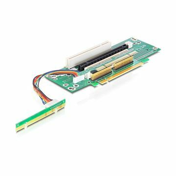 Picture of Adapter Riser PCI Express x16 na x1 PCI Express x16 + 2x PCI Delock