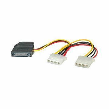 Slika Adapter Serial ATA 1x SATA + 3x Molex Ž Roline