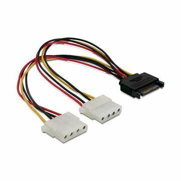 Picture of Adapter Serial ATA 1x SATA M + 2x Molex Ž Delock