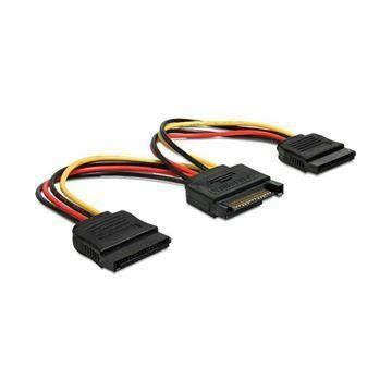Picture of Adapter Serial ATA 1x SATA M + 2x SATA Ž Delock