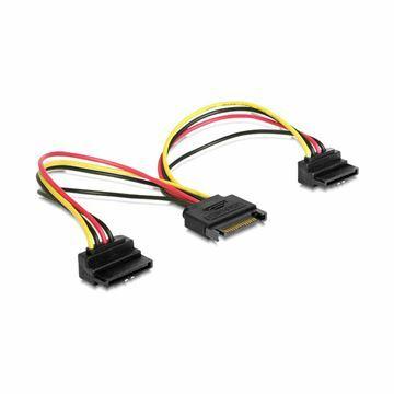 Picture of Adapter Serial ATA 1x SATA M + 2x SATA Ž kotni Delock