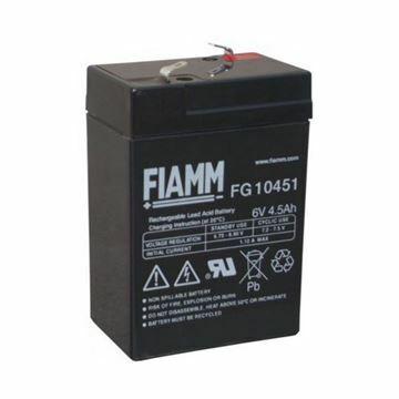 Picture of Akumulator FIAMM  6V/4.5 Ah