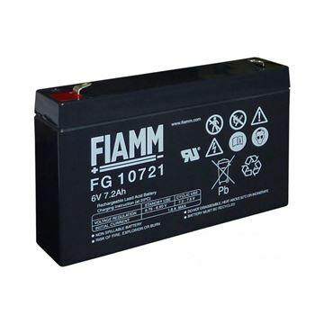 Picture of Akumulator FIAMM  6V/7,2 Ah