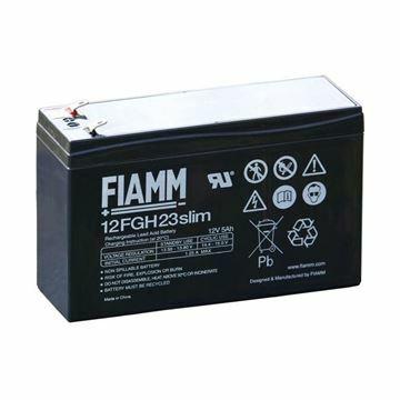 Picture of Akumulator FIAMM 12V/ 5 Ah Slim velik.