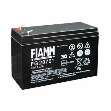 Picture of Akumulator FIAMM 12V/ 7,2 Ah-faston 4.8