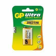Baterija alkalna 9V ULTRA GP
