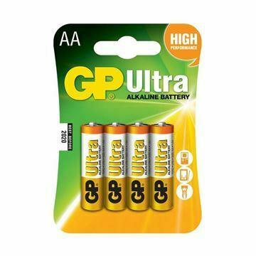 Slika Baterija alkalna AA 4 kom ULTRA GP