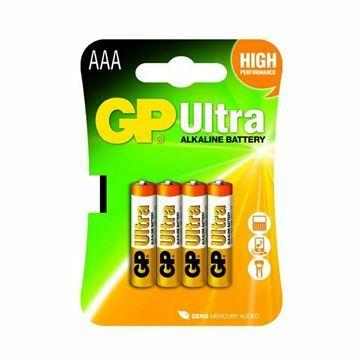 Slika Baterija alkalna AAA 4kom ULTRA GP