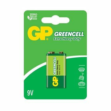 Picture of Baterija cink kloridna 9V GP GreenCell