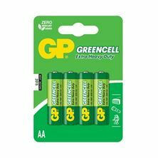Baterija cink kloridna AA GP GreenCell