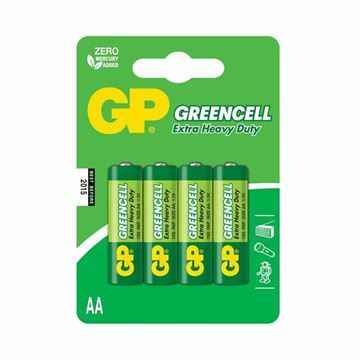 Picture of Baterija cink kloridna AA  GP 4 kom GreenCell