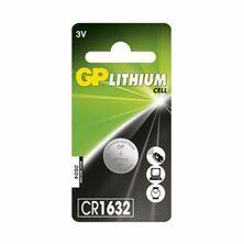 Baterija gumb litijeva 3V CR1632 GP