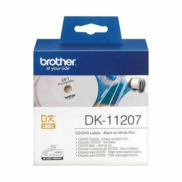 Picture of BROTHER DK11207 termične nalepke CD/DVD