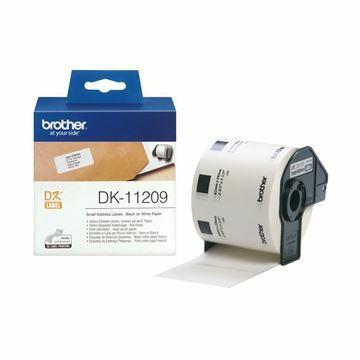 Picture of BROTHER DK11209 termične manjše nalepke 26x62mm