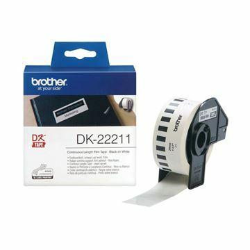 Picture of BROTHER DK22211 termične neskončne nalepke - film 29mm x 15,24m