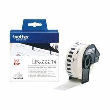 Slika BROTHER DK22214 termične neskončne nalepke - papir 12mm x 30,48m