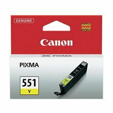 Slika Črnilo CANON CLI-551 RUMENO 6511B001AA