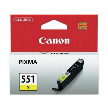 Picture of Črnilo CANON CLI-551 RUMENO 6511B001AA