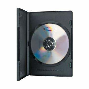 Slika DVD ohišje črno dvojno (5 kom) Ednet