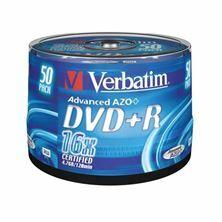 Slika DVD+R 4,7Gb 16x 50-cake Verbatim