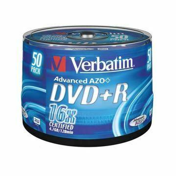 Picture of DVD+R 4,7Gb 16x 50-cake Verbatim