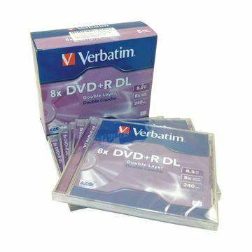 Picture of DVD+R 8,5Gb 8x  5-kos dvoslojni Verbatim