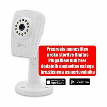 Picture of IP Kamera-DIGITUS 1.0MP DN-16046 SOHO brezžična Avdio MikroSD