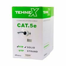FTP CAT5e kabel AWG24 Tehnex