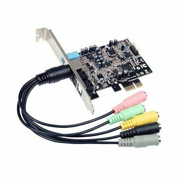 Slika Kartica PCI Express Zvočna 8 kanalov M-540 STLab