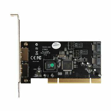 Picture of Kartica PCI Kontroler A-183 STLab SATA + SATA zunanji