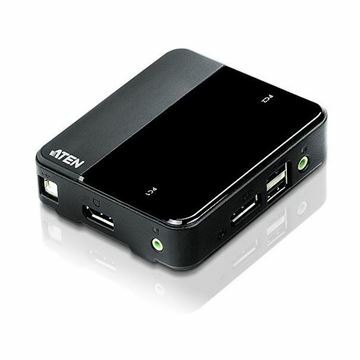 Picture of KVM  stikalo  2:1 DisplayPort/USB s kabli CS782DP 4K Aten