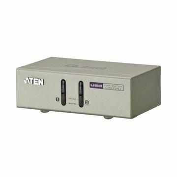 Picture of KVM  stikalo  2:1 namizni VGA/USB/AVDIO CS72U s kabli Aten