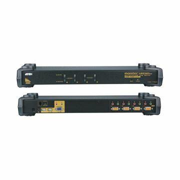 Picture of KVM  stikalo  4:1 48cm VGA/USB/AVDIO CS-1754Q9 Aten
