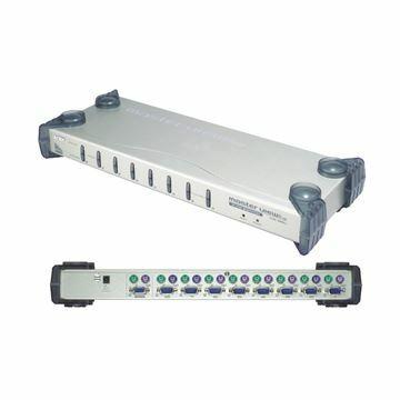 Picture of KVM  stikalo  8:1 48cm VGA/PS2 CS88A Aten