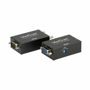 Picture of Line extender-VGA-VGA + AVDIO RJ45-RJ45 VE022 Aten mini