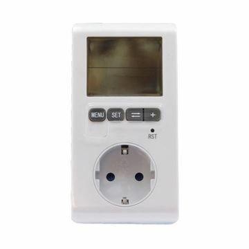 Picture of Merilnik porabe električne energije nastavljiv/digitalni Bachmann