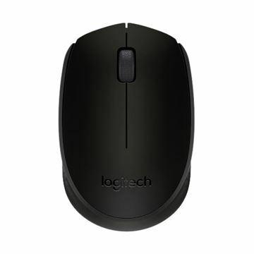 Slika Miška Logitech OEM B170 Brezžična, črna