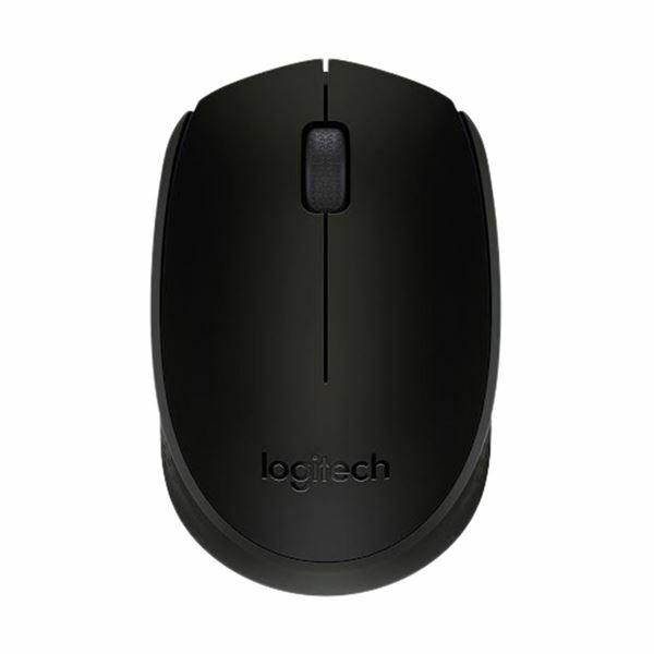 Brezžična miška Logitech B170 črna