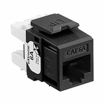 Picture of Modul Cat.6A UTP 110 eXtreme črn Leviton