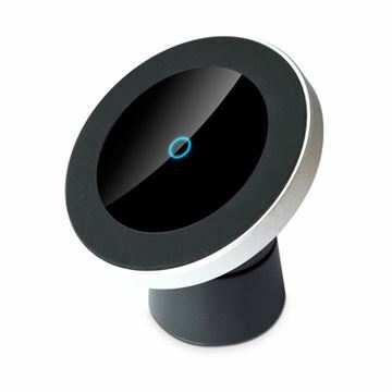 Slika Nosilec za telefon z brezžičnim polnjenjem in magnetno zaponko Fantec