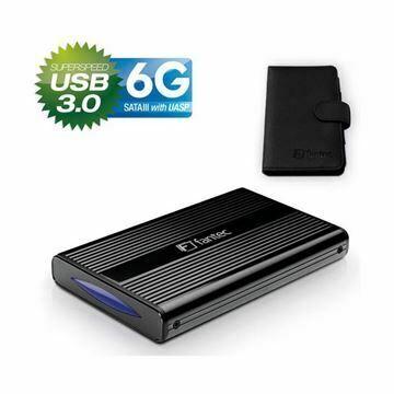 Picture of Ohišje 6cm USB 3.0 DB-228U3-6G Fantec ALU črno