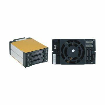Picture of Ohišje izmenljivo za HDD 3x9cm SATA SNT-BA2131-1 črno Fantec