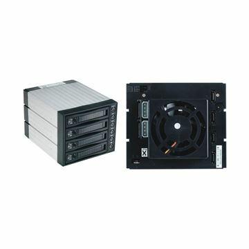 Picture of Ohišje izmenljivo za HDD 4x9cm SATA SNT-BA3141-1 črno Fantec