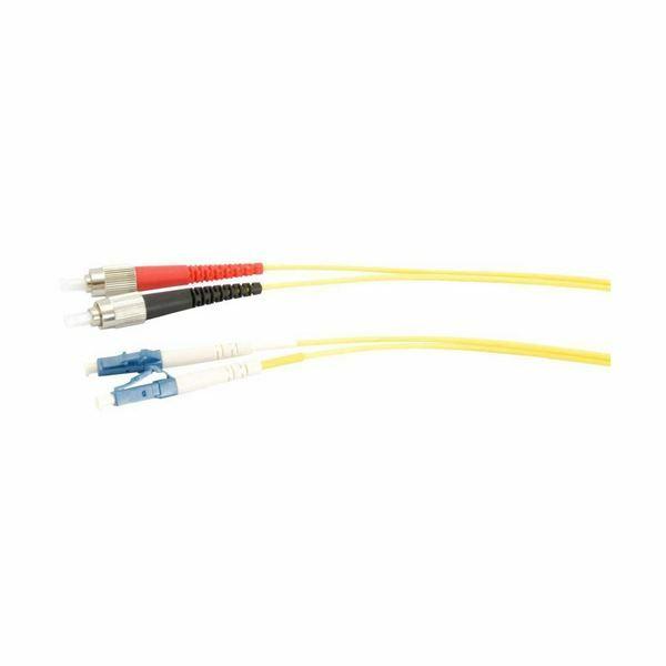 Optični kabel SM OS2 3m rumen Duplex EFB