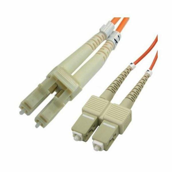 Optični kabel SM OS2 1m rumen Duplex Leviton