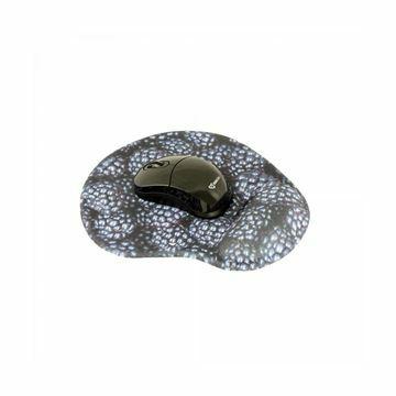 Slika Miška SBOX brezžična WM-206 črna + podloga za miško gelware