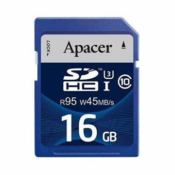 Slika Pomnilniška kartica SD HC 16GB APACER UHS-I U3 95/45 Class10